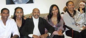 Thomas, Semhar, Kelati,  Iyda, Azieb with grandaughter, Lily